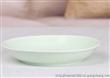 8寸饭 清水釉 餐盘 色釉陶瓷