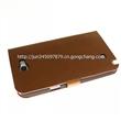 厂家供应三星GALAXY Note II系列进口PU材料鳄鱼皮手机皮套