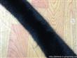 染色狐狸毛条领