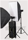 金鹰 M-300A 影视闪光灯 双灯套装 2*300W 带套装箱 高速引闪器