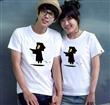 2013新款 情侣装 夏装 情侣装 短袖  情侣T恤 来样来图订做