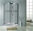 佛山益雅BR005不锈钢扇形淋浴房、简易淋浴房