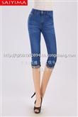 韩版女式牛仔裤