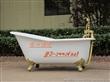 银山独立式铸铁搪瓷浴缸SPA现代简约浴缸
