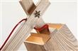 创意木艺灯 厂家直销办公专用木灯 古镇光之鸟