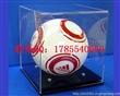 深圳天利达订做足球篮球展示盒 亚克力防尘罩 有机玻璃模型盒 收纳盒