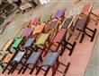 马扎 折叠桌 鞋架 花架 清漆马扎 最便宜马扎