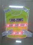 广州厂家专业生产120克低弹反光马甲/反光工作/反光衣/环卫马甲/交通执勤