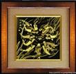 [金之幻]厂家批发供应金雕清明上河图 铜板金画 金属画 工艺品 商务居家礼品