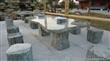 福建和发九龙壁石桌椅