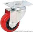 奔宇脚轮 3寸专利超强聚氨酯脚丝杆边刹脚轮