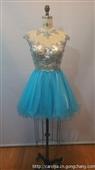 厂家直销 2014年最新款欧美小礼服 伴娘装 晚礼服