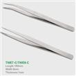 安可信TWE系列缝纫镊子 不锈钢镊子 尖头弯头镊子 可OEM定做