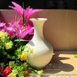 景德镇市鼎烨瓷厂陶瓷白色小花瓶