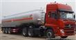 东风小三轴槽罐车|烧碱、液碱运输车