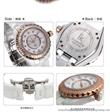 IK阿帕琦镶钻女士石英表 进口优质陶瓷时尚女表 防水时装手表80001G-stc