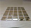氮化铝陶瓷基板上镀铜130微米后化学镀镍浸金