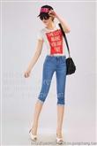广西霆好服饰女装牛仔裤。