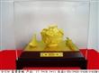厂家直销绒沙金碗富贵金碗黄金商务银行礼品