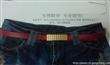 广州细腰带 牛仔裤腰带 短裤皮带