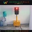 移动交通信号灯、手推式四面移动交通灯、教学用移动交通灯