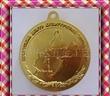 供应供银色金属徽章 金属雕刻纪念章  大力士运动徽章