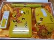 中国特色商务套装 黄瓷笔 点烟器优盘两件套 高档活动促销礼品