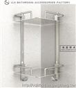 欧吉 太空铝置物架 浴室置物架 卫生间 双层三层置物架 置物架