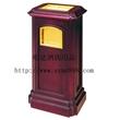 明达MA-013铜木座地烟灰桶