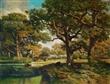 家居艺术品 客厅风景画童年回忆