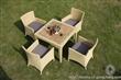 HMC6085 编藤户外餐桌椅