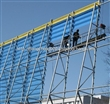 山西煤场防风抑尘网,金属喷塑防尘网,抑尘墙,优质防风网厂。