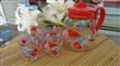 上海青苹果冷水壶  家庭生活茶壶套装   冷水壶套装