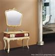 巴洛克系列浴室柜,欧式浴室柜,高档品牌丹枫白鹭欧式浴室柜107