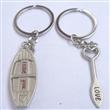 情侣钥匙扣-小船与桨-钥匙圈厂家现货供应