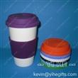 双层陶瓷马克杯