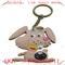 【供应pvc兔子钥匙扣|卡通滴胶兔子钥匙扣、小白兔钥匙扣】价格