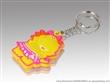 厂家定制pvc软胶塑料钥匙扣|3D立体卡通滴胶塑料钥匙扣