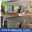 广州嘉颢隔断玻璃 智能调光玻璃 电控调光玻璃 智能玻璃投影屏