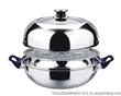 凯迪克不锈钢制品厂直销蒸汤两用锅,飞碟锅,造型新颖,质量可靠