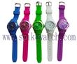 【内外贸爆款】ICE Watch 时尚韩版带历行针石英表日内瓦硅胶手表