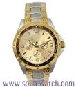 时尚热销手表 时霸新款潮流手表 仿三眼金色石英表 男士手表