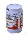 宁波洁然9L橡木系列不锈钢感应垃圾桶