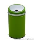 宁波洁然6L不锈钢垃圾桶 圆盖