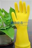 佛山奇峰峻岳橡胶手套--【牛筋工业防护乳胶手套】耐酸碱手套
