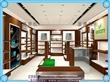 设计鞋店装修效果图/鞋店展柜货架定做价格