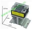 正宗固特交流10A单相固态继电器SAP4010D+散热器
