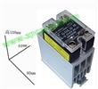 固特交流单相25A固态继电器SAP4025D+散热器