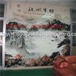 天津玻璃背景墙彩印机价格