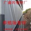 河北沧州白色500g猪场专用卷帘、养殖场卷帘、畜牧卷帘批发